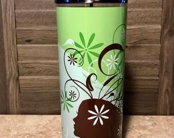 Large Designer Disinfectant Jar- Leilani