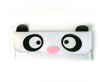 Panda Long Pouch