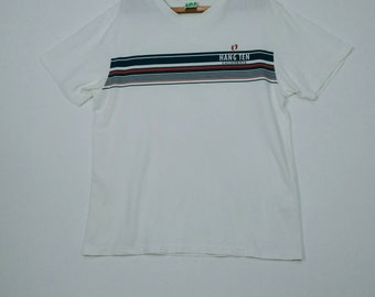 Hang Ten California vintage White  T-shirt Large