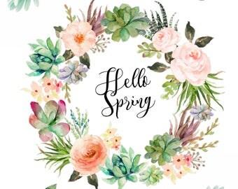 Spring Decor Print