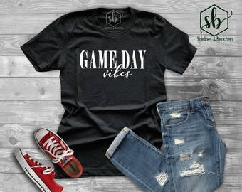 Game day vibes unisex t-shirt| tank top | Baseball shirt | Baseball Babes | Moms shirts | Customize