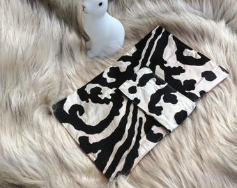 Silk Clutch - Nappy and wipes bag!