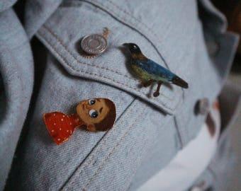 Handmade Pins - 2 Pins