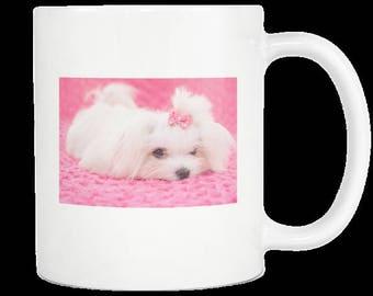 Custom 11 oz Coffee Mug/White