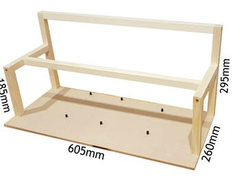 how to make a picture frame stand up