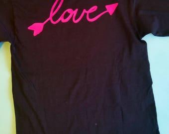Valentine's day long sleeve shirt