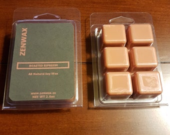 Roasted Espresso Scented Natural Soy Wax Melt
