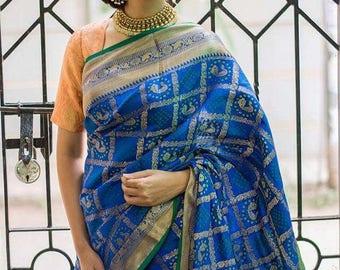 A16-Cotton Silk Saree