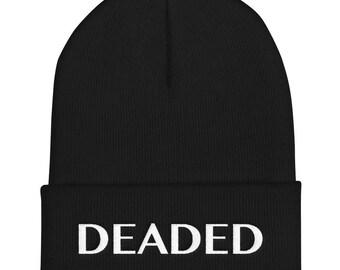 DEADED Cuffed Beanie