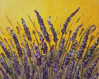 Lavender Sun small canvas