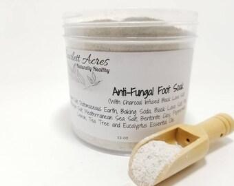 Ant-Fungal Foot Soak, Athletes Foot Bath, Foot Bath Soak, Foot Detox, detox foot bath.