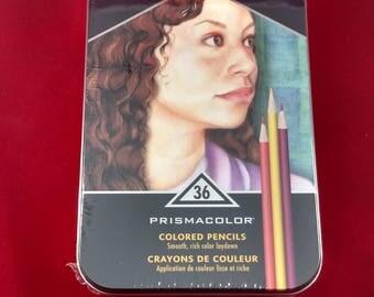 Prismacolor Premier colored pencils 36 artist-quality colored pencils
