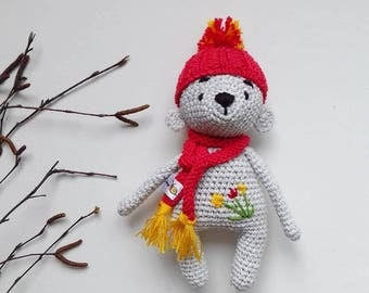 Crochet Toy Bear