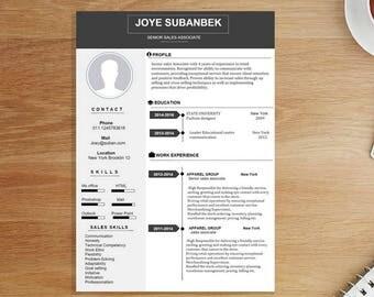 Professional resume templates