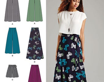 Simplicity 1069 Skirt Pattern Size P5 12-20