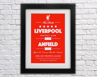 Liverpool FC Club Print