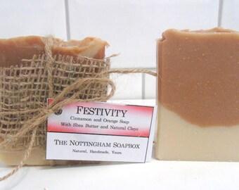 Festivity - Cinnamon and Orange Soap