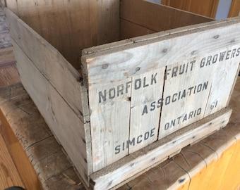 Vintage Apple  box/crate