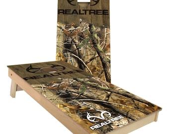Real Tree Camo Cornhole Boards