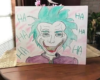 The Joker Original Canvas Painting