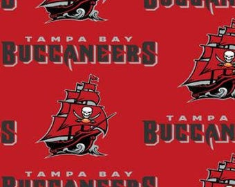 Tampa Bay Buccaneers Cotton Fabric by the Yard