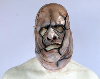 Mickie Meek's Half Skin Mask Leatherface inspired Killer High Quality