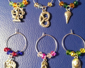 Celebrating Summer Wine Charms