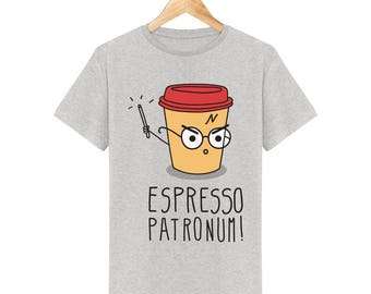 Harry potter Espresso Patronum men T-shirt