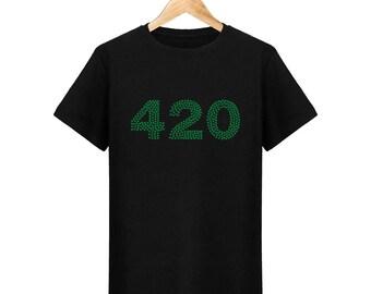 Cannabis weed 420 mens T-Shirt
