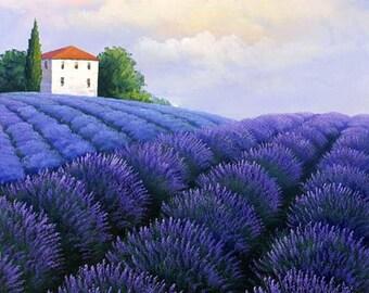 Purplish Tuscany Garden