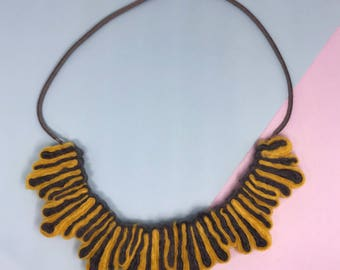 Splash Necklace – Yellow