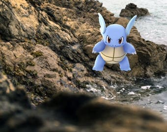 Wartortle Pokemon GO Photography Print