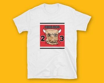 Paper Bag CHICAGO BULLS Short-Sleeve Unisex T-Shirt, BULLS T-shirt, Fashion, Unisex, Couple Tshirt