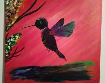 Hummingbird 14 x 11