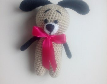 Crochet dogs, knitting dogs,  key ring, amigurumi dogs, animals dog, plush dog