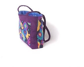 Colourful Purple Bag
