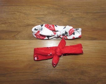 Stretchable Hair Bows (set of 2)