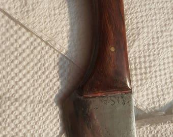 Hand made knife skinner