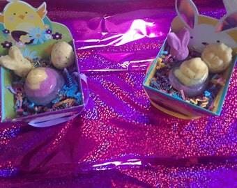Easter Basket Bath Bombs!