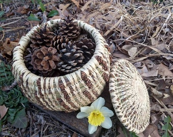 Large Pine Needle Basket