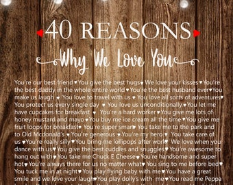 40 Reasons why we love you