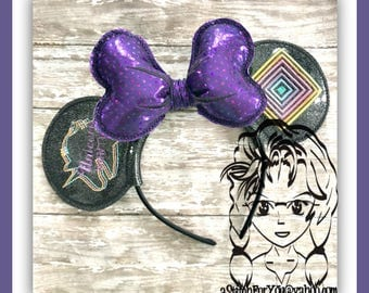 UNICORN HuNTER Inspired (5 Piece) Mr Miss Mouse Ears Headband ~ In the Hoop ~ Downloadable DiGiTaL Machine Emb Design by Carrie