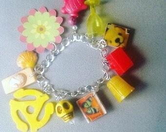 Kitschy Pop Charm Bracelet