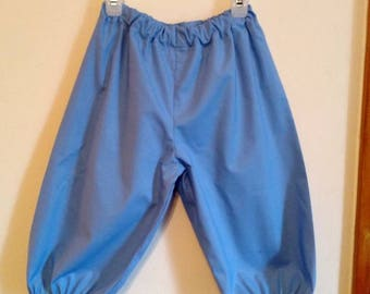 Boys Blue Colonial Knickers, Below the Knee Breeches, Size 5 - 6