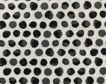 Weighted Blanket - Adult or Child - Small Black Watercolor Dots - Choose your weight (up to 15 lbs) and minky color - custom