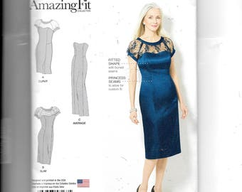 Simplicity Misses' /Women's Dress In Three Lengths Pattern 8163