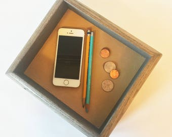 Wood Valet Tray Etsy