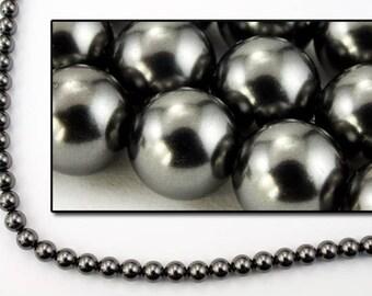 Swarovski 5810 5mm Black Pearl