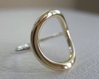 ON SALE TODAY Circle Ring, Eternity Ring, Gold Ring