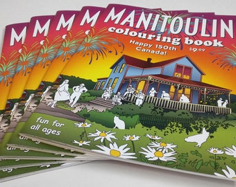 Manitoulin Colouring Book by Whytes (Coloring Books, Coloring Pages, Adult Coloring Books, Adult Coloring Pages, Coloring Books for Adults)
